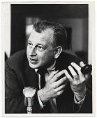 view Eero Saarinen speaking into a microphone digital asset number 1