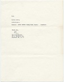 view Roy Lichtenstein letter to Audrey Sabol digital asset number 1