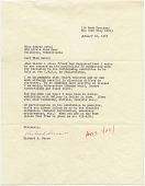 view Richard Serra, New York, N.Y. to Audrey Sabol, Villanova, Pa. digital asset number 1