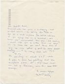view William T. Wiley letter to Audrey Sabol digital asset number 1