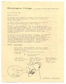 view Octavio Armand, Bennington, Ver to Baruj Salinas digital asset: page 1