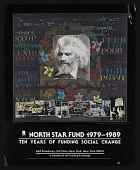 view Poster for exhibition <em>North Star Fund, 1979-1989: Ten Years of Social Change</em> digital asset number 1