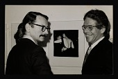 view John Szarkowski and Gary Winogrand at Diane Arbus' exhibition opening at MoMA digital asset number 1