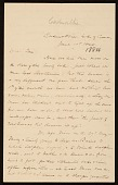 view F. W. (Fitzwilliam) Sargent, Cadenabbia, Italy letter to Thomas Sargent digital asset number 1