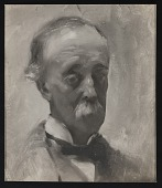view Reproduction of portrait of F.W. Sargent painted by John Singer Sargent digital asset number 1