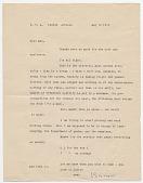 view Isamu Noguchi, Ariz. letter to Man Ray digital asset number 1
