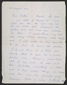 view Pablo Picasso letter to Bertha Schaefer digital asset number 1