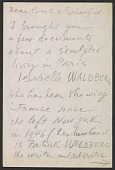 view Marcel Duchamp letter to Bertha Schaefer digital asset number 1