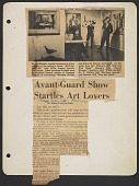 view Page of clippings from scrapbook digital asset number 1