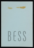 view Exhibition catalog for <em>Bess</em> exhibition at André Emmerich Gallery digital asset number 1