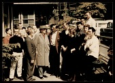 view Frank Lloyd Wright visiting the Rudolph Schaeffer School of Design digital asset number 1
