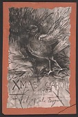 view Philip Howard Evergood Christmas card to Henry Ernest Schnakenberg digital asset number 1