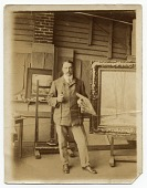 view Walter E. Schofield in a studio digital asset number 1