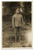view Full Portrait of Walter Schofield in military uniform digital asset number 1