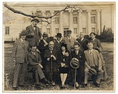 view James H. Chillman, Jr. and W.E. Schofield with others digital asset number 1