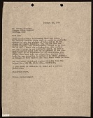 view Viktor Schreckengost letter to Donald Albright digital asset number 1