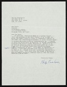 view Letters to Sue Scott from artists, 1987-1988 digital asset number 1
