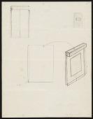 view Construction diagrams for Walter De Maria's <em>Silver portrait of Dorian Gray</em> digital asset number 1