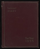view Robert Scull papers digital asset: Appointment Book: 1955