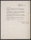 view Michael Heizer, New York, N.Y. letter to Robert C. Scull digital asset number 1