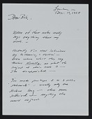 view Walter De Maria letter to Robert C. Scull digital asset number 1