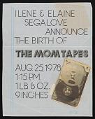 view Mock-up for poster promoting Ilene Segalove's <em>The Mom Tapes</em> digital asset number 1