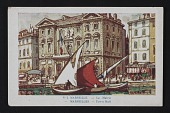 view Postcard with image of Marseilles Town Hall digital asset number 1