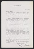 view Letter from Carolyn Goodman to Ben Shahn digital asset number 1
