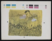 view Color proof study for Ben Shahn's <em>Epis</em> digital asset number 1
