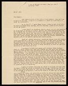 view Lincoln Kirstein, New York, N.Y. letter to Honor? Sharrer, New York, N.Y. digital asset number 1