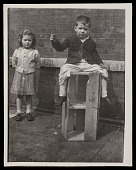 view Source material for <em>Tribute to the American Working People</em>. Two children digital asset number 1