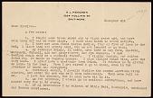 view H. L. Mencken letter to Charles Green Shaw digital asset number 1