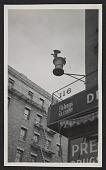 view Detail of corner drug store, New York City digital asset number 1