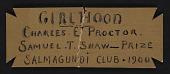 view Salmagundi Club Shaw Purchase Prize digital asset: Salmagundi Club Shaw Purchase Prize