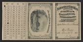 view Xanthus Smith's admission card to the Centennial Exhibition digital asset number 1