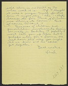 view Richard Diebenkorn letter to Hassel Wendell Smith digital asset number 1