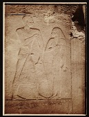 view Egyptian wall relief used as source material for Joseph Lindon Smith. digital asset number 1