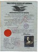 view Joseph Lindon Smith's passport digital asset: page 1