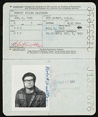 view Robert Smithson's passport digital asset: page