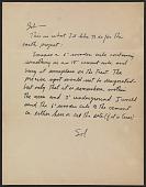 view Sol Lewitt letter to Robert Smithson digital asset number 1