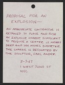 view Proposal for an explosion digital asset number 1