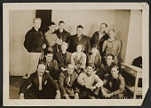 view Vernon Smith (seated on the floor all the way on the right) and others in Alaska digital asset number 1