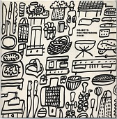 view <em>Objects for Preparing Food</em> digital asset: page 1
