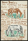 view Moses Soyer letter to David Soyer digital asset number 1