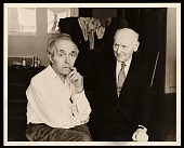 view Raphael Soyer and Isaac Bashevis Singer digital asset number 1