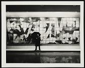 view Robert Sperry standing in front of his ceramic mural digital asset number 1