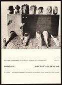 view <em>Marisol: recent sculpture</em> exhibition announcement for Stable Gallery, New York, N.Y. digital asset number 1