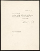 view Eleanor Ward, New York, N.Y. letter to Esther Stuttman, New York, N.Y. digital asset number 1