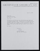 view Writings, Interview Transcript (E. Ward with Paul Cummings for the Archives of American Art) digital asset: Writings, Interview Transcript (E. Ward with Paul Cummings for the Archives of American Art)