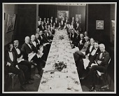 view Earl Stendahl's dinner at Stendahl Galleries, Ambassador Hotel in Los Angeles, California. digital asset number 1